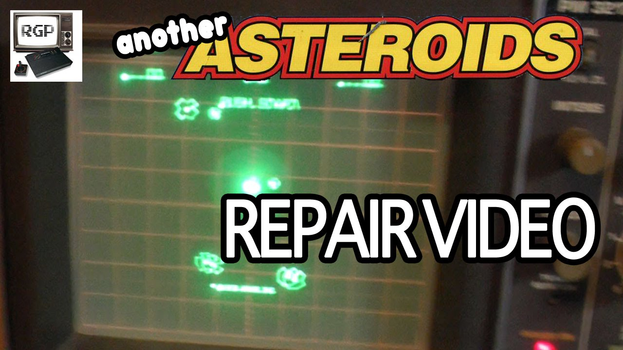 Asteroids Arcade PCB Repair (Atari, 1979) for Arcade Club ...