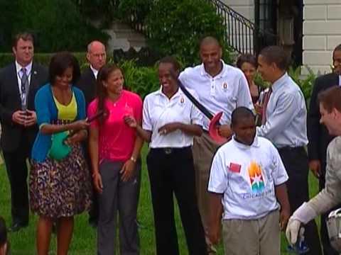 Obama backs Chicago for Olympics