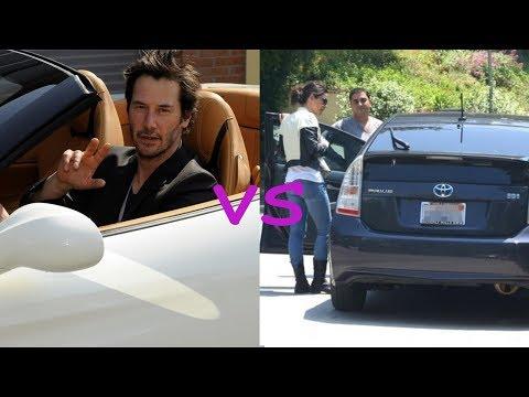 Keanu reeves cars vs Sandra bullock cars (2018)