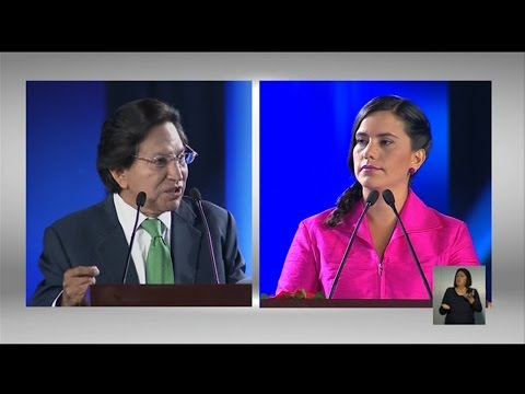 Alejandro Toledo vs Verónika Mendoza│RPP