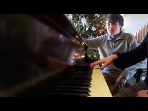 Kris Allen- Lost (cover) By John With Amalia On Piano.