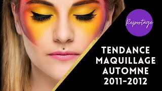 Tendance Maquillage METAMORPHOSES  Automne Hiver 2011 2012  MAKING OF