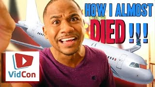 I ALMOST DIED!! On A Plane (Actual Footage) | STORYTIME