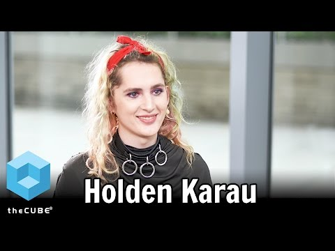 Holden Karau, IBM - #BigDataNYC 2016 - #theCUBE - YouTube