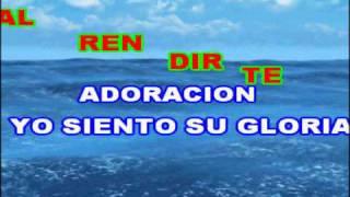 Download Siento Su Gloria - Ericson Alexander Molano (Karaoke - Pista) MP3 song and Music Video