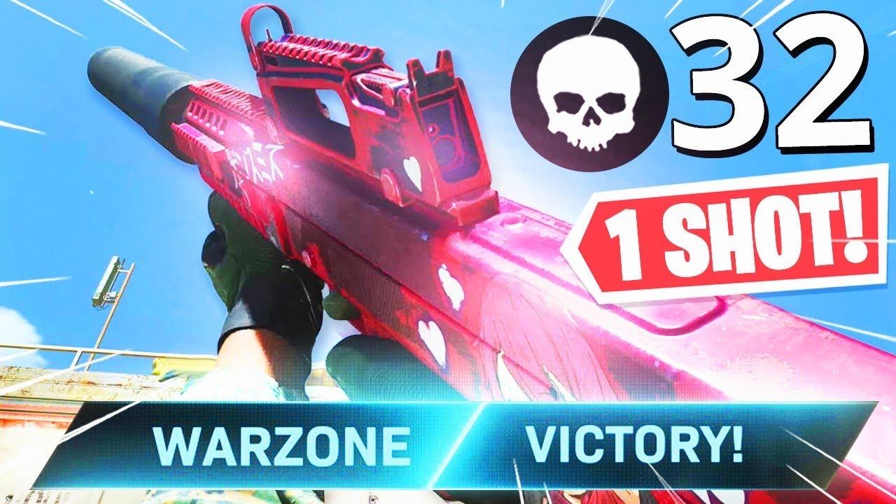 the 1 SHOT KILL ODEN CLASS SETUP in WARZONE! INSANE 32 KILL GAMEPLAY!! (Modern Warfare Warzone)
