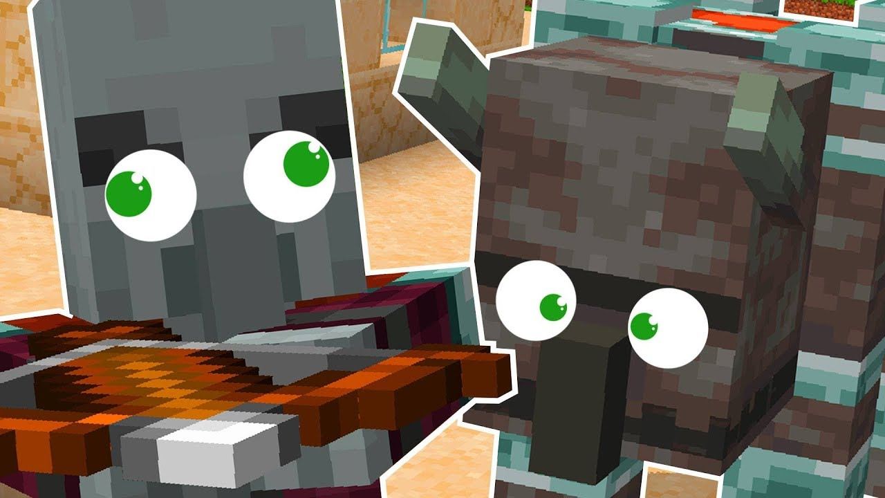 New Pillager And Illager Beast In Minecraft Youtube