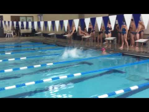 Women's 200 Medley Relay - Illinois College Dual Meet