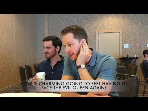 Once Upon A Time At Comic-Con: Josh Dallas & Colin O'Donoghue
