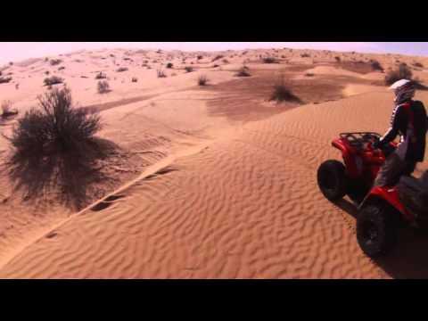 Raid moto et quad Tunisie octobre 2011