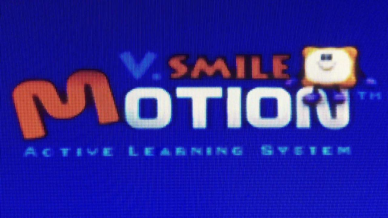 Vtech V  Smile Motion logo with Action Mania introduction