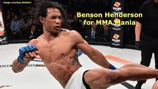 Benson Henderson Interview Before Saad Awad at Bellator 208