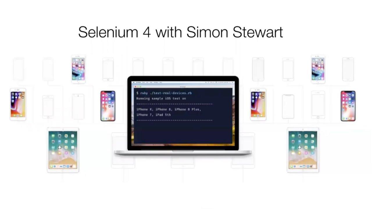 Selenium 4 with Simon Stewart | Webinar | BrowserStack