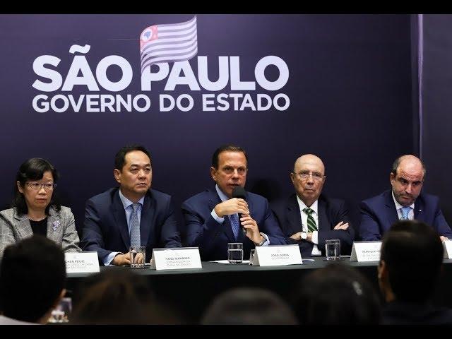 Doria anuncia primeiro escritório comercial de São Paulo na China