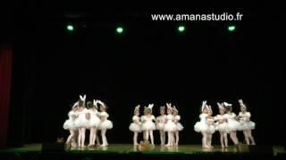 Ecole de danse Amana Studio - spectacle 2017 - eveil à la danse 5 ans
