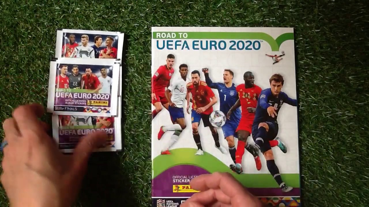 Calendrier Match Foot Euro 2020.Panini Road To Uefa Euro 2020 Sticker Starter Set Review