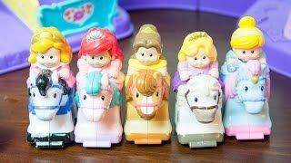 Disney Princess Klip Klop Stable by Fisher-Price - Rapunzel, Aurora, Belle, Cinderella, & Ariel!