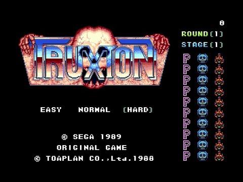 Mega Drive Longplay [200] Truxton