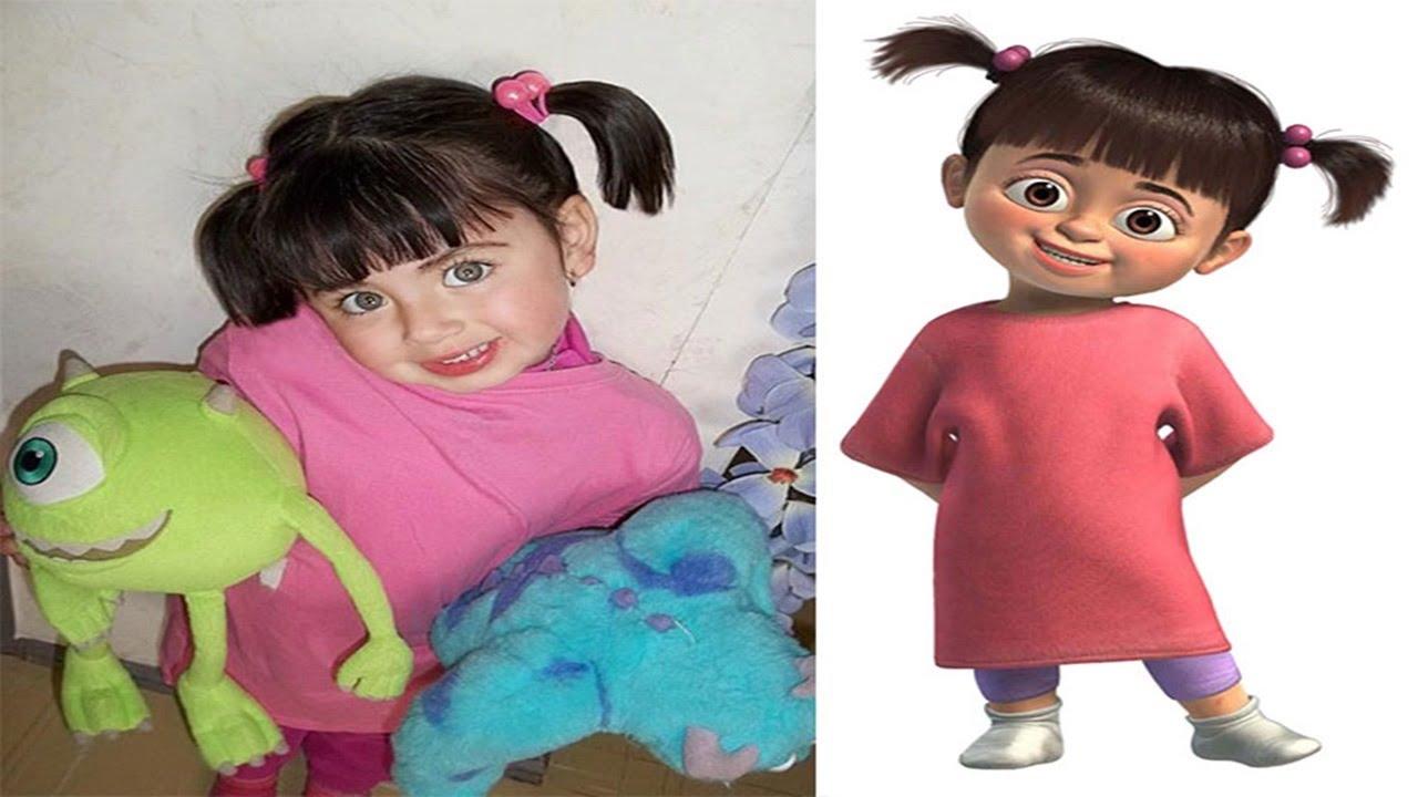 Bambini che sembrano personaggi dei cartoni animati ! youtube