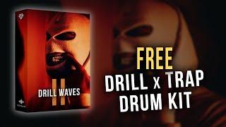 "NY / UK Drill Drum Kit 2020 (FREE Download) - ""Drill Waves II"" 💯"