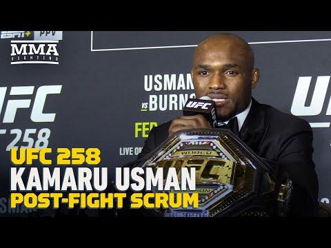 UFC 258: Kamaru Usman On Jorge Masvidal Rematch: 'I'm Going To Put Him In A Coffin' - MMA Fighting
