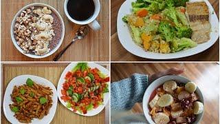 STUDENTEN Food Diary - gesund - die erste Uniwoche!