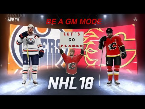 ROUND ONE VS Edmonton Oilers (NHL 18 Be a GM)