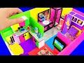 DIY Miniature House In A Shoebox