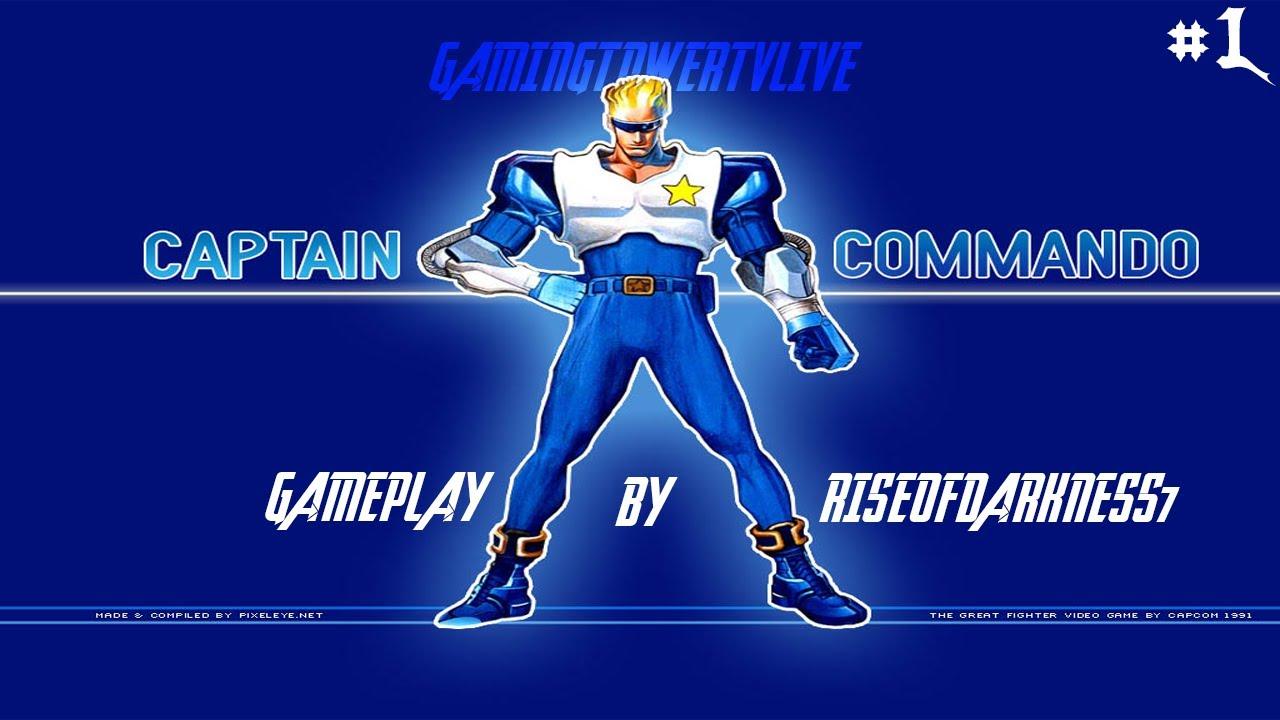 captain commando psx
