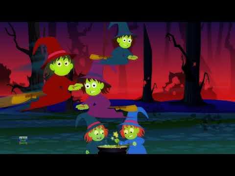 Хэллоуин дерево | рифмы для детей | Хэллоуинская рифмы | Halloween Tree | Haunted House Russia