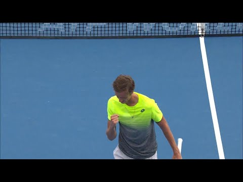 Daniil Medvedev v Philipp Kohlschreiber Match Highlights (R1) | Sydney International 2018