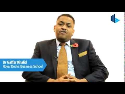 RDBS Profile: Dr Gaffar Khalid