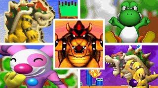 Yoshi Topsy-Turvy All Bosses + Ending (Yoshi
