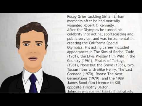 Rafer Johnson - Wiki Videos