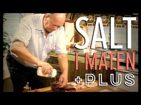 Hur mycket salt är det i maten? - Plus