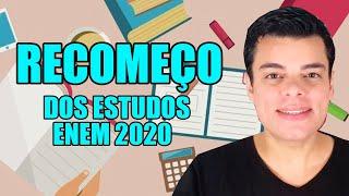 COMO COMEÇAR A ESTUDAR PARA O ENEM 2020