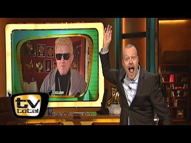 Vize-Babo: Sigmar Gabriel & Schläger-Typ Heino - TV total