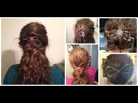 Lilla Rose Clips   Demo and Hairstyles   Requested