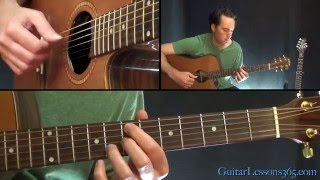 Ain't No Sunshine Guitar Lesson - Bill Withers