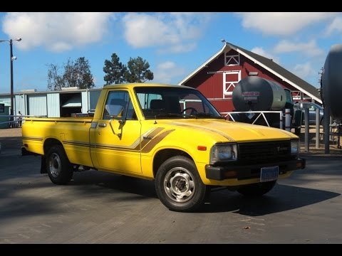 1982 toyota sr5 pickup truck by autokennel youtube. Black Bedroom Furniture Sets. Home Design Ideas