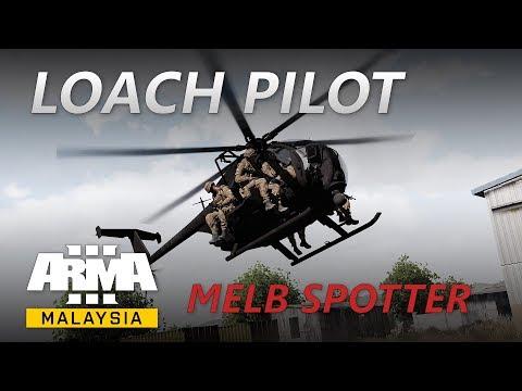 ArmA Malaysia - Loach Pilot