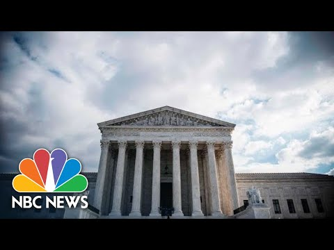 Live: Trump Announces Supreme Court Justice Nominee | NBC News