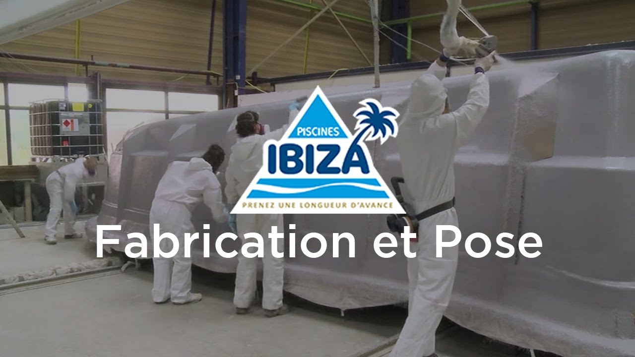 Piscines Ibiza Fabrication Et Pose Youtube