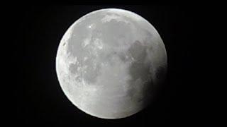 Полное Лунное Затмение за 3 минуты / 27 июля 2018