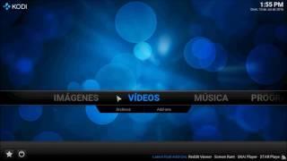 Agregar Listas de canales y cambiar de lista de canales en Kodi - Importec Virtual