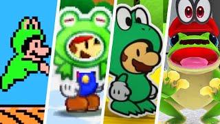 Evolution of Frog Mario (1988 - 2021)