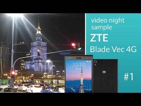 ZTE Blade Vec 4G camera test: night video 1 (1080p)