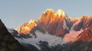 Trekking and climbing in Cordillera Huayuash and Cordillera Blanca  2016