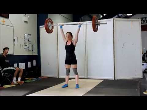 Equity S&C: Krista's First Olympic Weightlifting Meet