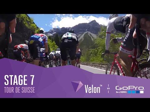 Tour de Suisse 2016 Stage 7: On-Bike Highlights